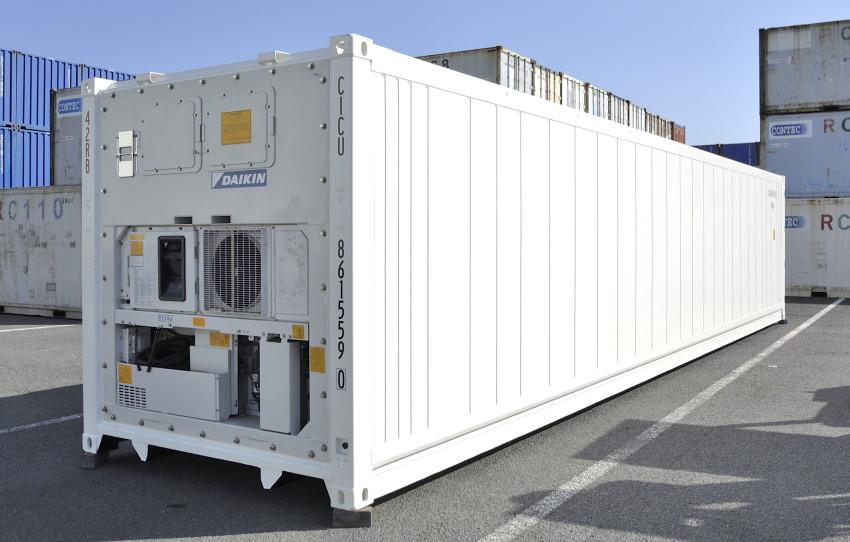 リーファーコンテナ・冷蔵コンテナ・冷蔵コンテナ